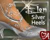 .a Elven Heels Silver