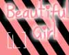 [L] Beautiful Sticker