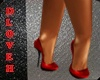 DL RED SHOES