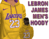 LEBRON LAKERS HOODY Y