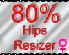 *M* Hips Resizer 80%