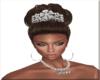 Bride Hair W/Crown 2