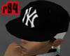 [r84] Blk Yankee Cap 2