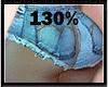 130% BUTT & HIP SCALER