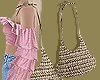 Straw Slouch Bag