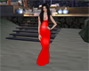 vestido red elegante
