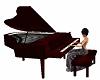 dark wine music piano