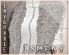 [Is] Fur Shrug Grey