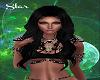 Talia Black Silk