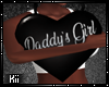 !K! Daddy's Girl Pillow