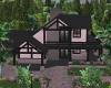 pink charcoal lake house