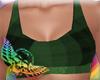 Green Tartan Sports Bra