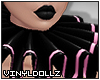 !V! Pierrot Pink Collar