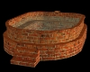 Tuscan brick tub
