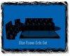 (G) Blue Rose Sofa