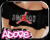 <3 Jordan Crop Top