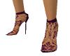 Lacy Purple Stilettos