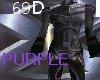 {69D}X-Squad Suit PURPLE