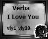*L*Verba I Love You
