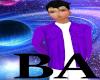[BA] Boys Purple Shirt