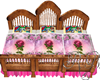 Triplet Beauty Beast Bed