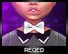 Req: White bowtie