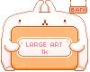 LARGE ART RAFFLE