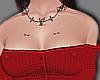 Pierced goth chest