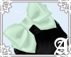Satin Bow~ Mint