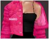 ♪ jacket dress - pink