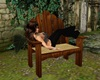 Garden Chair With Poses