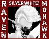 SILVER WHITE MOHAWK!