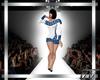 Gia Sweater Dress Blue