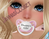 Kids Daddy's Girl Paci