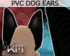 +KM+ PVC Dog Ears Blk