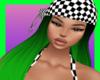 nk checkered toxic green