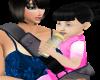 ANIMATED BLACK  BABY GIR