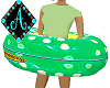 Ama{Pool Floatie green