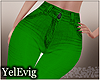 [Y] Green jeans M