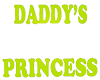 V8 Daddys Princess Sign
