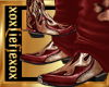 [L] Red WOLF Boots M