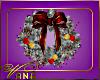 (VN) White Wreath w Ligh