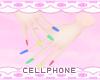rainbow nails ❤