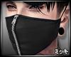 ! Black Mask Zipper II