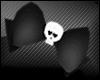 🐇 Black Skull Bow