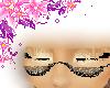 Sparkling black glasses