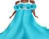 Jordon-Aqua Gown