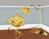 Animated gold Rose Seat