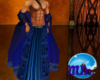 Mm* Robe Blue Tribal