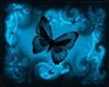 Blue Butterfly Rug